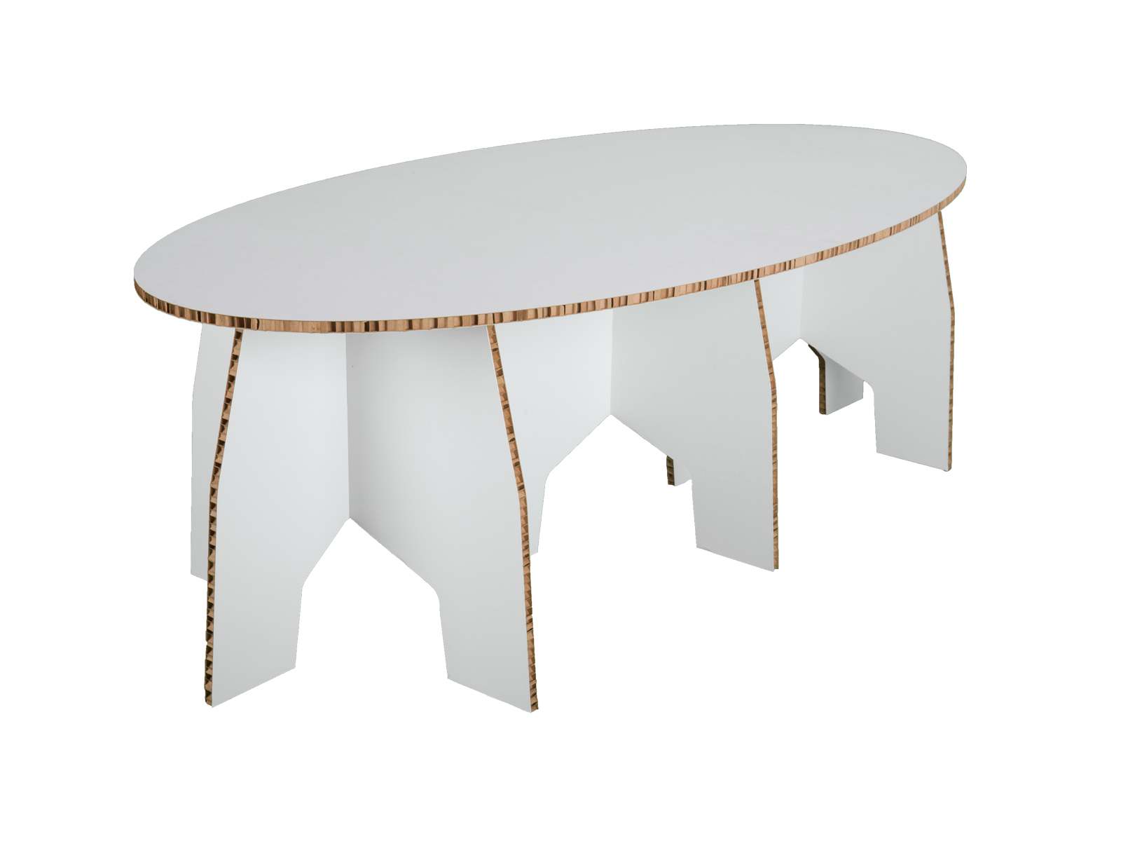 100 cardboard coffee table lucretia lighting